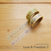 Masking Tape Box Love and Freedom 2