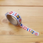 Masking Tape Die-Cut Flag