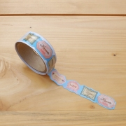 Masking Tape Die-Cut Romantic