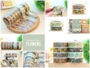 Masking Tape Flowers