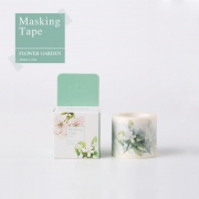 Masking Tape Holiday Flower Garden 4cm