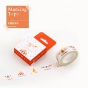 Masking Tape Holiday Circus