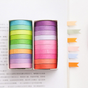 Masking Tape Set 10pc Solid Colors