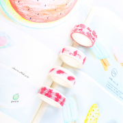 Masking Tape Set 4pc Pink Nature