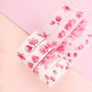 Masking Tape Set 4pc Sakura Flower