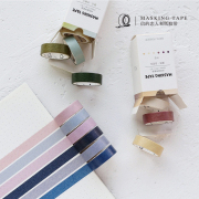 Masking Tape Set 6pc Classic Color Inspiration