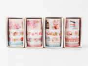 Blooming Day Assorted Masking Tape Set