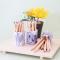 Floral DIY Masking Tape and Coloring Pencils Set