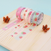 Masking Tape Strawberry Pattern