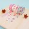 Masking Tape Strawberry Pattern