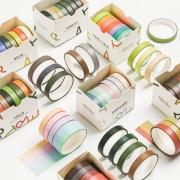 Masking Tape Set 7pc Color Shower