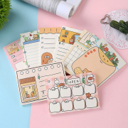 Rabbits Bakery Day Planning Memopad