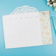 Iconic Monthly Plan Memo Pad