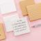Kraft or White Paper Mini Memopad