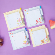 Fruit Party Memopad With Pen