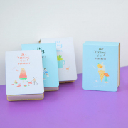 Summer Taste Mini Plain Memopad