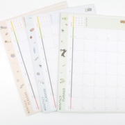Adorable Monthly Planner Memopad