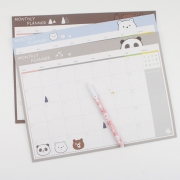 Family of Bear Monthly Planner Memopad