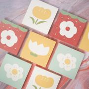 Flower For You Square Memopad