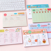 Happy Warm Season Weekly Planner Memopad