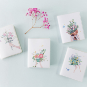 Floras Garden Ruled Mini Notes A7