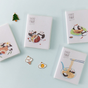 Foodie Panda Ruled Mini Notes A7