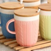 Wool Sweater Ceramic Mug
