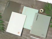 Aspiration Grid Notebook B5