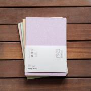 Floating Dream Glitter Grid Notebook B5