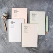 Light Shade Series Grid Notebook