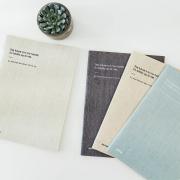Minimalism Handwriting Notebook B5