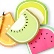 Summer Fruits Hardcover Notebook