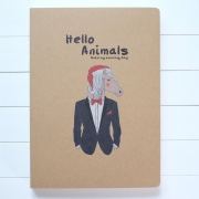 Hello Animals Notebook Big
