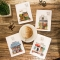 Cozy Coffeehouse Mixed Notebook