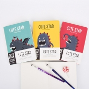 Cute Star Giant Monster Mixed Notebook