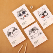 Adorable Honey Hardcover Mixed Notebook A6