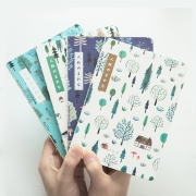 Japan Forest Hardcover Mixed Notebook