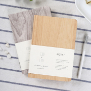 Wood Design Hardcover Mixed Notebook B6