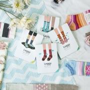 Leggy Shoes Socks Mixed Notebook
