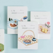 Life Dessert Mixed Notebook B6