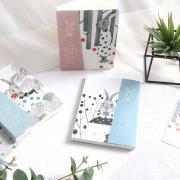 Little Blue Rabbit Mixed Notebook