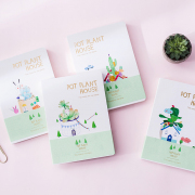 Pot Plant House Mixed Notebook