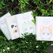 Garfield Story Spiral Mixed Notebook