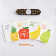 Sweet Fruit Style Mixed Notebook