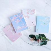 Dear Cherry Blossom Plain Notebook A6