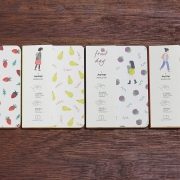 Fruit Day Plain Notebook