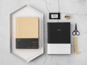 Timeless Series Hardcover Plain Notebook