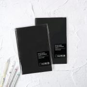 Panmomo Black Paper Plain Notebook A5