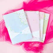 The Language of Sakura Thick Plain Notebook B5