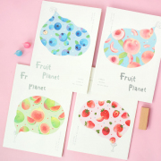 Fruit Planet Ruled Notebook B5